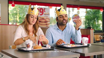 Burger King Pancakes TV Spot, 'What Would You Do?'