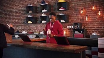 Cup Noodles TV Spot, 'I'm Just Warmin' Up: Sneaker Store' - Thumbnail 1