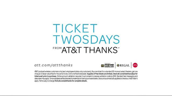 AT&T THANKS Ticket Twosdays TV Spot, 'Boyfriend' - Thumbnail 8