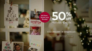 Vistaprint Holiday Cards TV Spot, 'Personality' - Thumbnail 9
