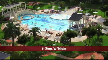 Hallmark Channel White Sand Christmas Sweepstakes TV Spot, 'Beaches Resort' - Thumbnail 6