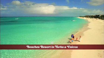 Hallmark Channel White Sand Christmas Sweepstakes TV Spot, 'Beaches Resort' - Thumbnail 7