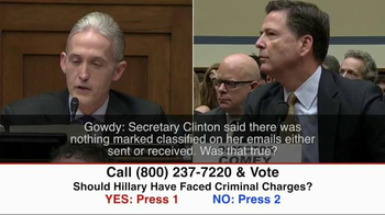 Great America PAC TV Spot, 'Clinton Criminal Charges' - Thumbnail 1