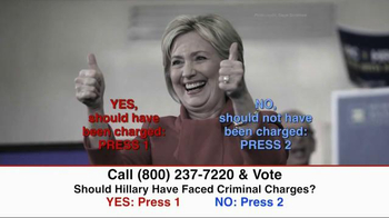 Great America PAC TV Spot, 'Clinton Criminal Charges' - Thumbnail 10