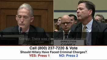 Great America PAC TV Spot, 'Clinton Criminal Charges' - Thumbnail 4
