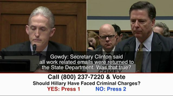 Great America PAC TV Spot, 'Clinton Criminal Charges' - Thumbnail 7