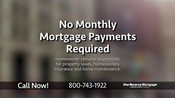 One Reverse Mortgage TV Spot, 'The Line of Credit' - Thumbnail 4
