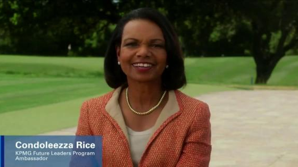 KPMG TV Commercial, 'The Next Generation' Featuring Condoleezza Rice