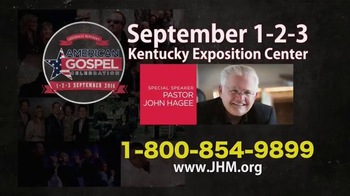John Hagee Ministries TV Spot, '2016 American Gospel Celebration' - Thumbnail 6
