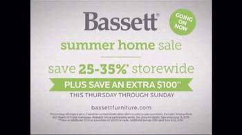 Bassett Summer Home Sale TV Spot, 'Design Studio: Sectional' - Thumbnail 7