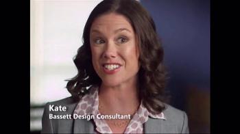 Bassett Summer Home Sale TV Spot, 'Design Studio: Sectional' - Thumbnail 2