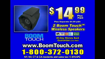 Boom Touch TV Spot, 'No Wires' - Thumbnail 9