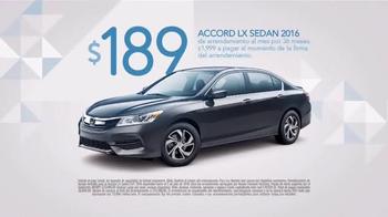 2016 Honda Accord LX TV Spot, 'Camion de Helados' [Spanish] - Thumbnail 10