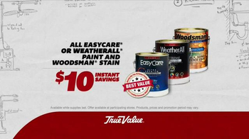 True Value Hardware TV Spot, 'The Value of Room to Run: Paints and Stains' - Thumbnail 5