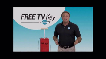 Clear TV Free TV Key TV Spot, 'HD Digital Antenna' - Thumbnail 1