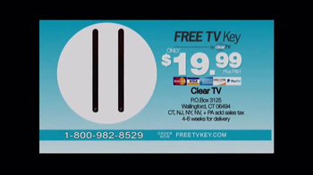 Clear TV Free TV Key TV Spot, 'HD Digital Antenna' - Thumbnail 7