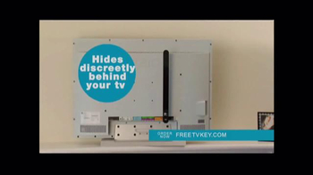 Clear TV Free TV Key TV Spot, 'HD Digital Antenna' - Thumbnail 3