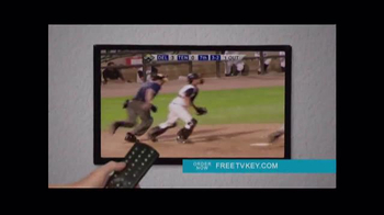 Clear TV Free TV Key TV Spot, 'HD Digital Antenna'