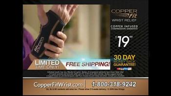 Copper Fit Wrist TV Spot, 'Stability' - Thumbnail 8