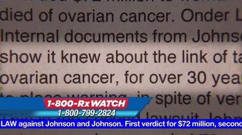 Onder Law Firm TV Spot, 'Johnson & Johnson' - Thumbnail 3