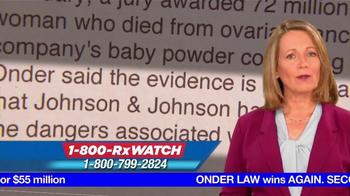Onder Law Firm TV Spot, 'Johnson & Johnson' - Thumbnail 7