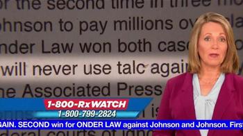 Onder Law Firm TV Spot, 'Johnson & Johnson' - Thumbnail 8