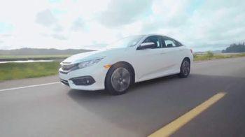 Honda One Tank Trips Sweepstakes TV Spot, 'Beautiful Drives: 2016 Civic' - Thumbnail 5