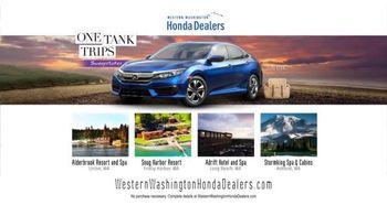 Honda One Tank Trips Sweepstakes TV Spot, 'Beautiful Drives: 2016 Civic' - Thumbnail 8