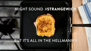 Hellmann's TV Spot, 'Crispy Grilled Cheese Strangewich Recipe' - Thumbnail 10