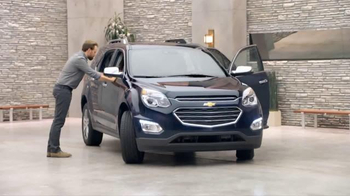 2016 Chevrolet Equinox TV Spot, 'Three Sizes' - Thumbnail 1