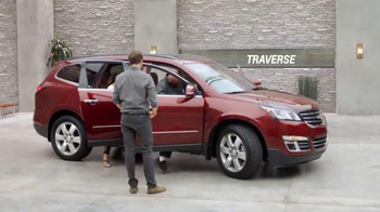 2016 Chevrolet Equinox TV Spot, 'Three Sizes' - 164 commercial airings