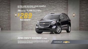 2016 Chevrolet Equinox TV Spot, 'Three Sizes' - Thumbnail 8