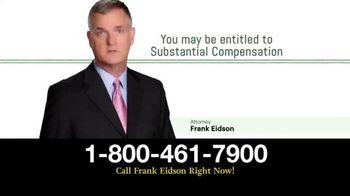 Law Offices of Frank Eidson TV Spot, 'Nerve Damage'