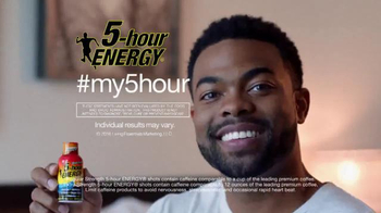 5 Hour Energy TV Spot, 'What's Your 5-Hour? Wake-Up Call' - 1741 commercial airings