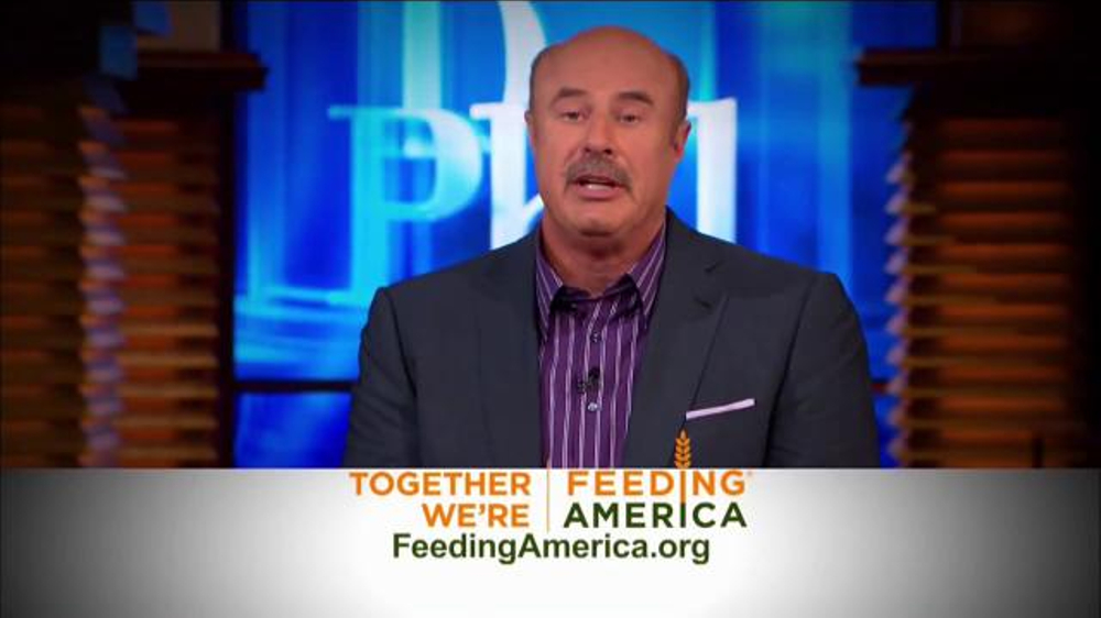 Feeding America TV Commercial, '16 Million Kids' Featuring Dr  Phil - Video