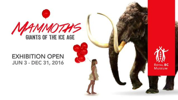 Royal BC Museum TV Spot, 'Mammoths! Giants of the Ice Age' - Thumbnail 10