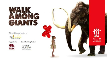 Royal BC Museum TV Spot, 'Mammoths! Giants of the Ice Age' - Thumbnail 9