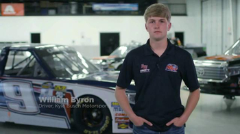Liberty University TV Spot, 'Brakes' Featuring William Byron - Thumbnail 6