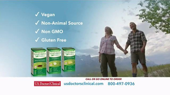 U.S. Doctors' Clinical Vegetarian Softgels TV Spot, 'Wellness Solutions' - Thumbnail 3