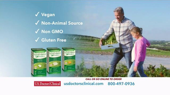 U.S. Doctors' Clinical Vegetarian Softgels TV Spot, 'Wellness Solutions' - Thumbnail 4