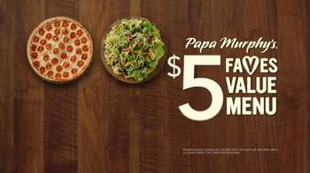 Papa Murphy's Pizza $5 Faves Value Menu TV Spot, 'Leverage' - Thumbnail 2