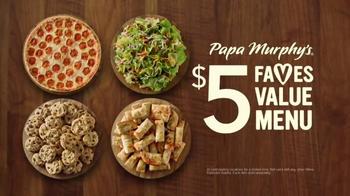 Papa Murphy's Pizza $5 Faves Value Menu TV Spot, 'Leverage' - Thumbnail 7