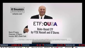 O'Shares Investments TV Spot, 'ETF: OUSA' Featuring Kevin O'Leary - 388 commercial airings