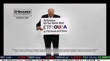 O'Shares Investments TV Spot, 'ETF: OUSA' Featuring Kevin O'Leary - Thumbnail 10