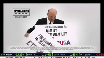 O'Shares Investments TV Spot, 'ETF: OUSA' Featuring Kevin O'Leary - Thumbnail 5
