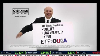 O'Shares Investments TV Spot, 'ETF: OUSA' Featuring Kevin O'Leary - Thumbnail 6