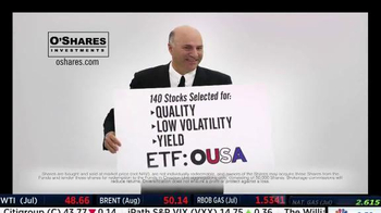 O'Shares Investments TV Spot, 'ETF: OUSA' Featuring Kevin O'Leary - Thumbnail 7