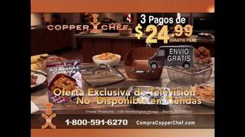 Copper Chef Square Pan TV Spot, 'Sistema de 5 piezas' [Spanish] - Thumbnail 10