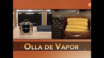Copper Chef Square Pan TV Spot, 'Sistema de 5 piezas' [Spanish] - Thumbnail 3