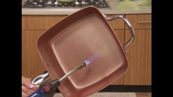 Copper Chef Square Pan TV Spot, 'Sistema de 5 piezas' [Spanish] - Thumbnail 4